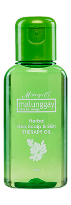 Moringa herbal moisturizing oil for hair and skin