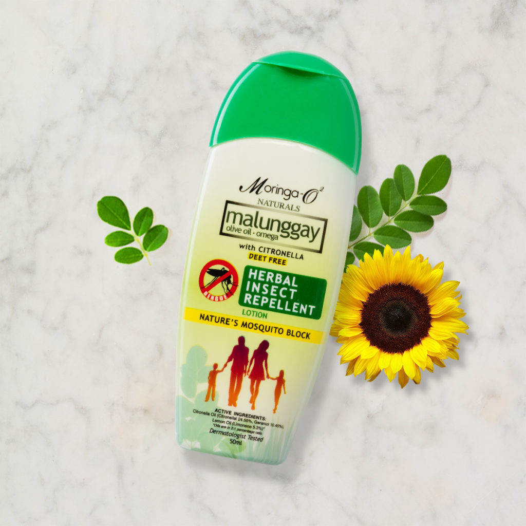 Moringa O2 herbal insect repellent
